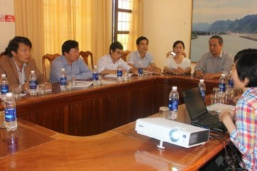 MB Phong Nha - Ke Bang worked with the Institute of Geological missions - Vietnam Academy of Science and Technology